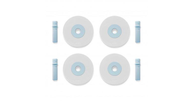 Modu Foam wielen Blauw