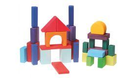 Grimms 30 gekleurde geometrische blokken
