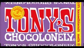 Tony Chocolonely Melkchocolade Kaneelbiscuit