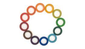 Grapat Houten Speelgoed 12 x Ringen