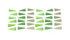 Grapat Houten Speelgoed Mandala Groene Kegels