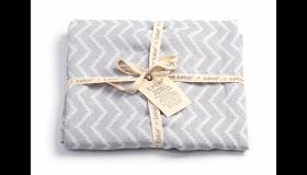 KipKep Blenker handdoek Large Silver Grey - 170x100cm