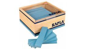 Kapla 40 Plankjes Lichtblauw  Kapla 40 Plankjes Lichtblauw