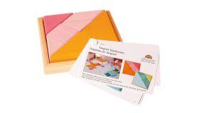 Grimms Tangram roze- oranje mini