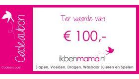 Digitale Cadeaubon €100,-