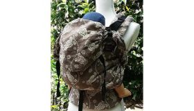 Emeibaby  Draagzak  Full paisley mocca Toddler