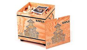 Kapla 1000 Blanke Plankjes  in een kist met deksel