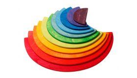 Grimms Halve Cirkels Regenboog houten speelgoed