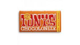 Tony Chocolonely   Melkchocolade karamel zeezout