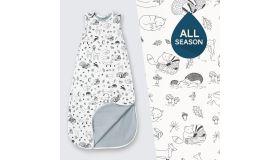 SuperLove Merino Baby Sleeping Bag  - All Season - Enchanted Forest 0-24 mnd