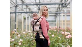 Pure Baby Love Draagzak Click & Go baby  Rose