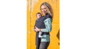 Pure Baby Love Draagdoek tricot (stretch) grey