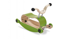 Wishbone Mini Flip loopauto Groen