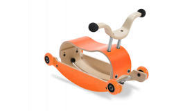 Wishbone Mini Flip loopauto Oranje