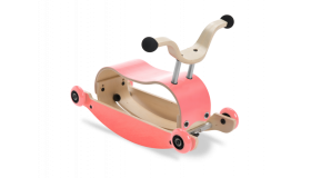 Wishbone Mini Flip loopauto Roze